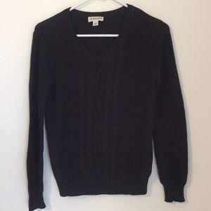 St. John's Bay Black Sweater